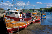 Fishing Boats in Tobermory Harbour