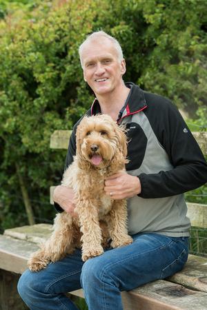 Richard and his dog Obi