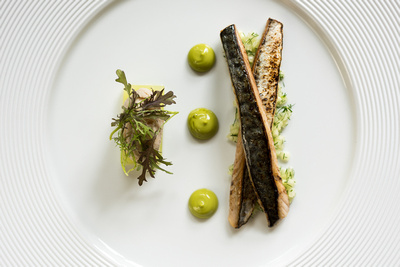 R Gill, Food Photographer, Mackerel starter