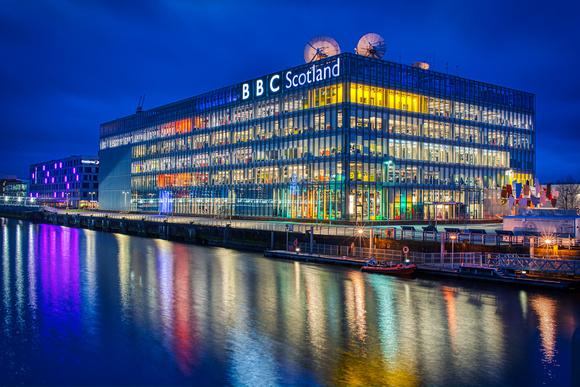 BBC Scotland building Pacific Quay, Glasgow