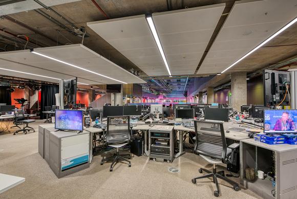The news area in BBC Scotland