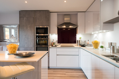 R Gill, Property Photographer,  Open Plan Kitchen