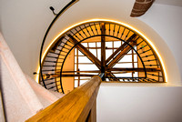 R Gill, Property Photographer, Spiral staircase