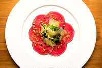 R Gill, Food Photographer, Cumbrian Beef Carpaccio